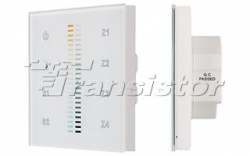 Панель Sens SR-2830B-AC-RF-IN White (220V,MIX+DIM,4зоны)