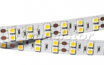 Лента RT 2-5000 24V White 2x2 (5060, 600 LED, LUX)